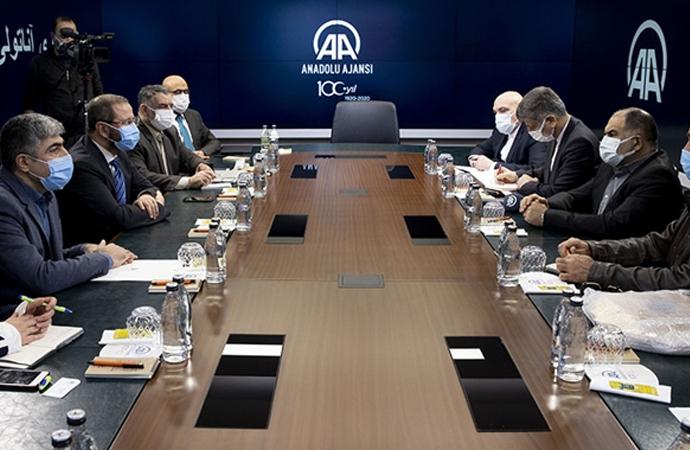 İranlı Bakan Yardımcısından AA'ya ziyaret