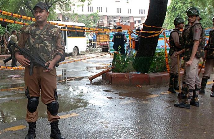 İsrail'in Yeni Delhi Büyükelçiliği yakınında patlama