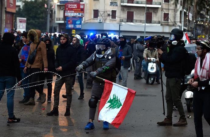 Trablusşam'da gösteriler devam ediyor