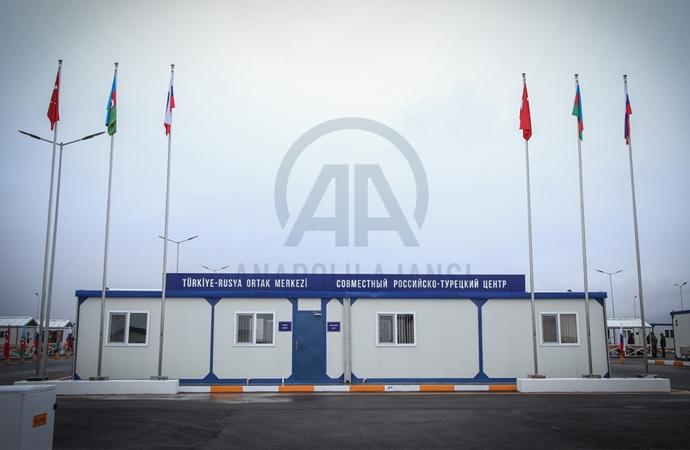 Karabağ'da Türk-Rus Ortak Gözlem Merkezi