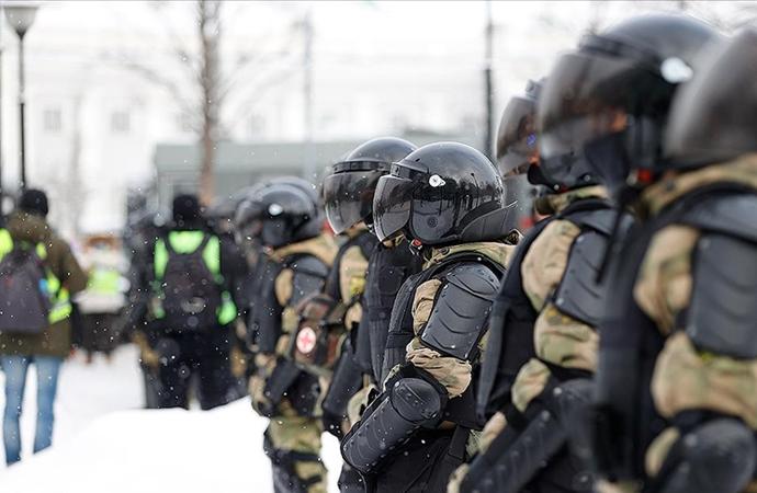 Rusya'da Navalny gösterilerinde 1643 kişi gözaltına alındı