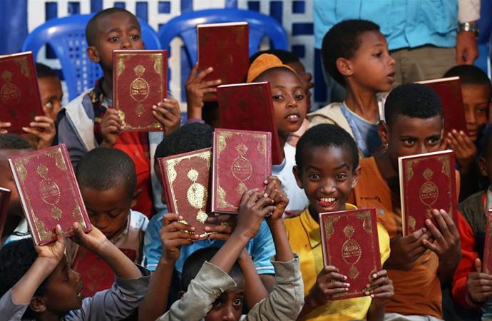 Diyanet Vakfı 80 ülkede bir milyona yakın Kur'an dağıttı