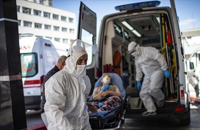 Son 24 saatte 7.900 yeni hasta, 110 ölüm