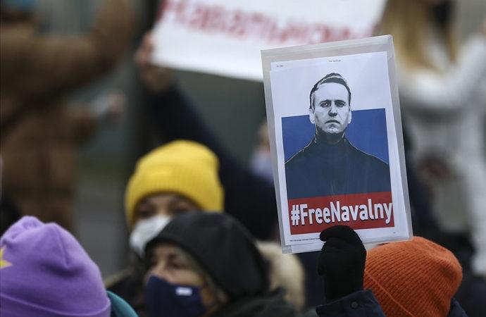 Rusya'da Navalnıy protestolarına katılan Avrupalılar