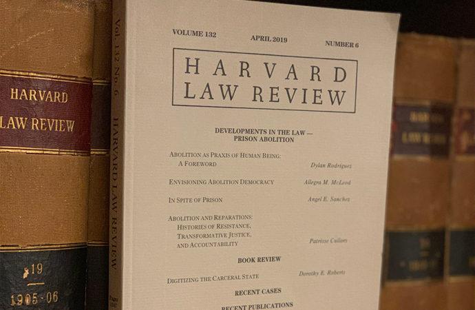 Harvard'ın yayınladığı hukuk dergisine Müslüman direktör