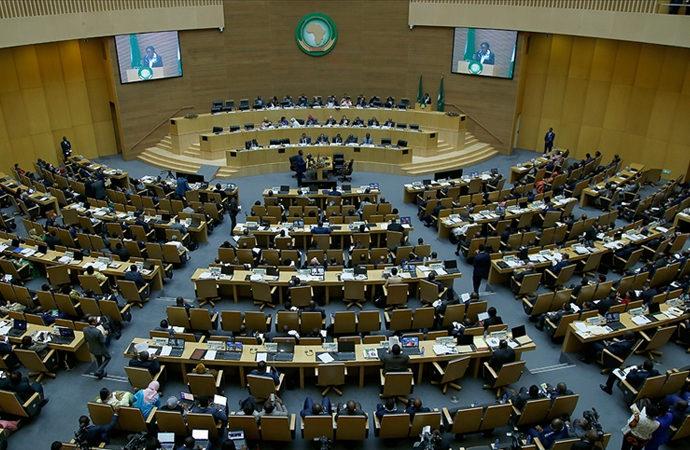 Bu yıl online düzenlenen Afrika Birliği Zirvesi sona erdi