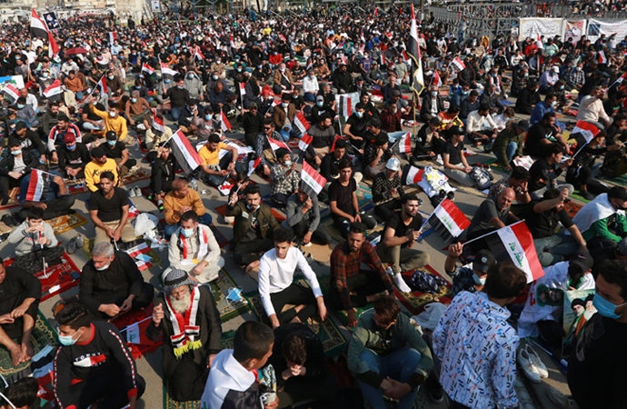 Sadr'dan 3 büyük şehirde gövde gösterisi