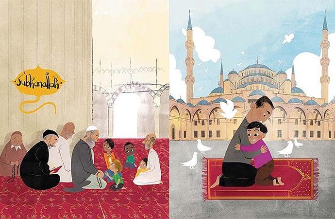 Özbek yazarın camileri anlattığı çocuk kitabı ABD'de çok satanlar listesinde