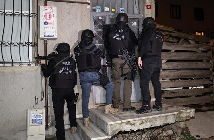 Adana, Diyarbakır ve İstanbul'da PKK'ya operasyonlar