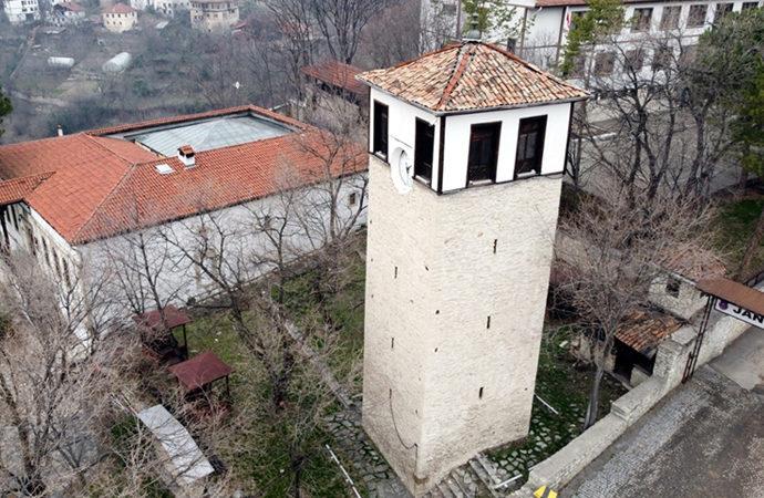 Safranbolu'nun 224 yıllık saat kulesi