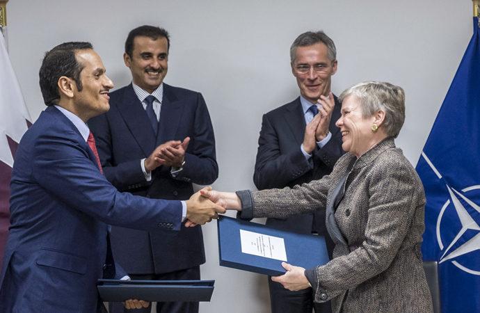 Katar, NATO ile anlaştı Brüksel'de temsilcilik açıyor