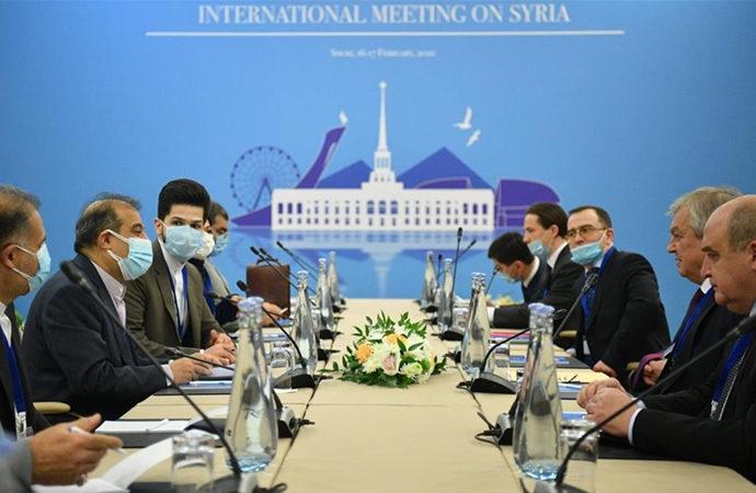 Suriye konulu 15. Garantörler Toplantısı Soçi'de başladı