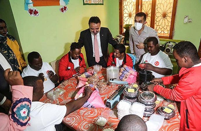 """Sudan'ın ilk """"Down sendromlular merkezi"""" Türkiye'den destekle açıldı"""