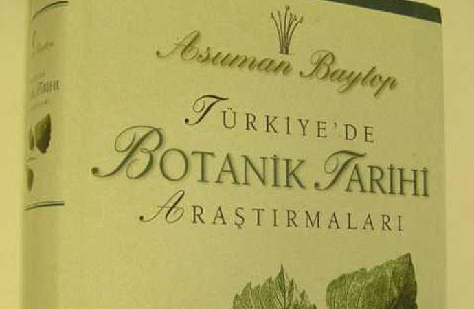 Türkiye'nin ünlü botanikçilerinden Prof. Dr. Asuman Baytop