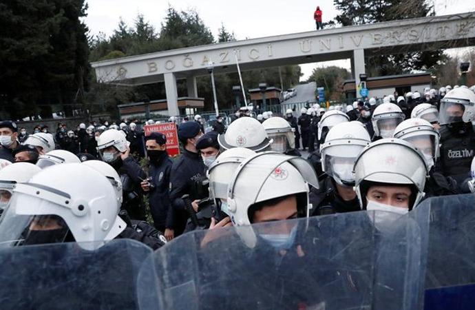 Boğaziçi gösterilerinde 108 kişi serbest bırakıldı