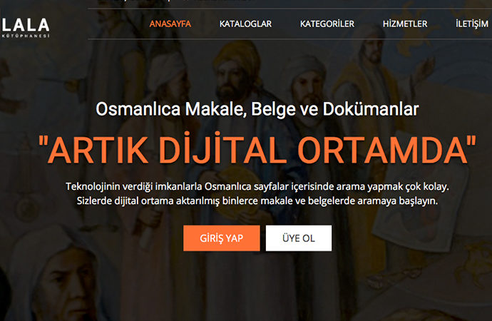 """Osmanlıca basılı eserler """"WikiLala"""" projesinde"""