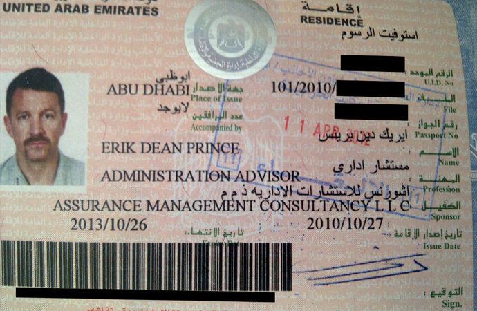 Erik Dean Prince, Libya'da iki operasyon planlamış
