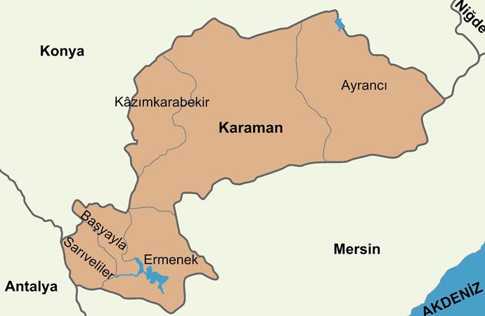Karaman Ermenek'te 5 gün sokağa çıkma yasağı