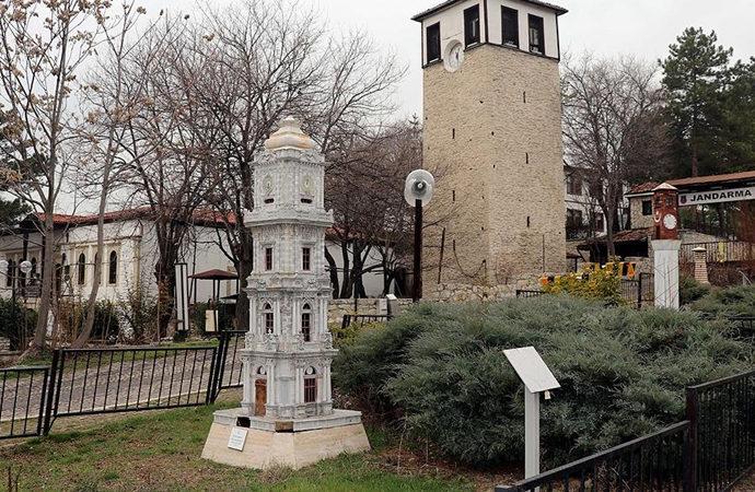 """Safranbolu'da """"minyatür saat kuleleri"""" müzesi"""