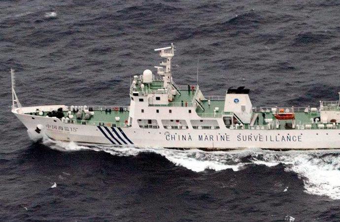 Çin sahil güvenlik gemileri Japonya kara sularına girdi