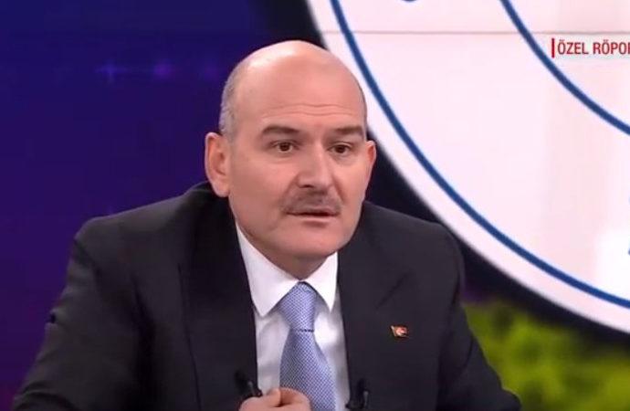Soylu: 'Kavala, sistemi kurmuş, eşi de Boğaziçi'nde konuşlanmış'