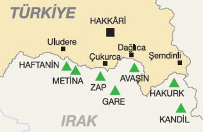 Irak'ın Metina bölgesinde MİT operasyonu