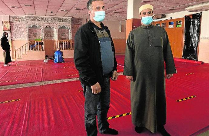İspanya'da bir camiye saldırı
