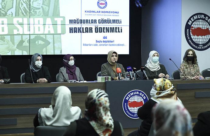 28 Şubat mağdurlarından iade-i itibar ve zararlara tazmin talebi