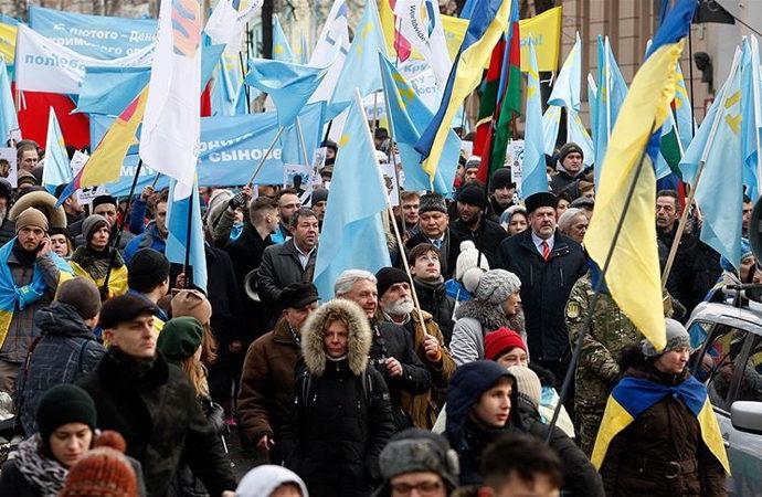 Kırım 7 yıldır Rus işgali altında