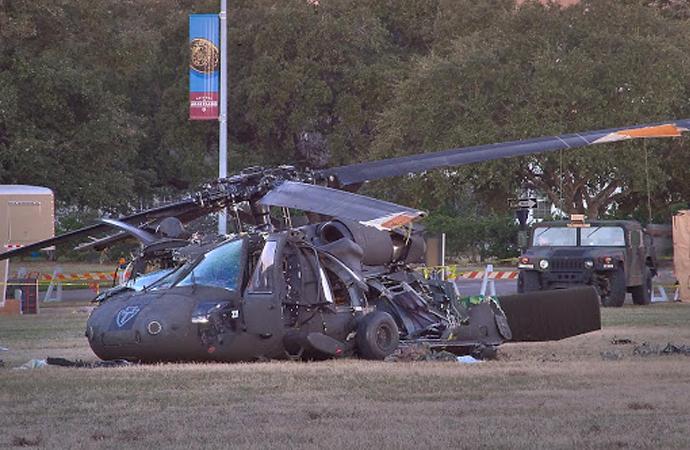 ABD'de Ulusal Muhafızları taşıyan Black Hawk düştü: 3 ölü