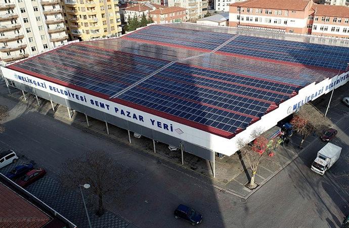 Güneş enerjisi ile belediye bütçesine 15 milyon lira katkı
