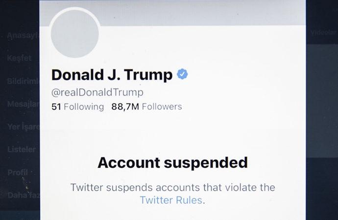 Twitter, Trump'ın hesabını bir daha açmayacağını bildirdi