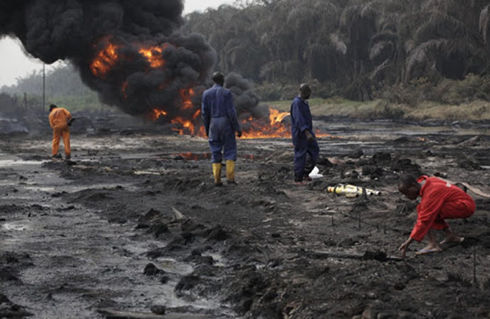 Nijeryalılar Shell aleyhine İngiltere'de dava açabilecek
