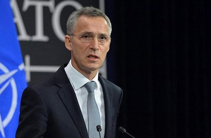 Erdoğan, NATO Genel Sekreteri Stoltenberg'e teşekkür etti