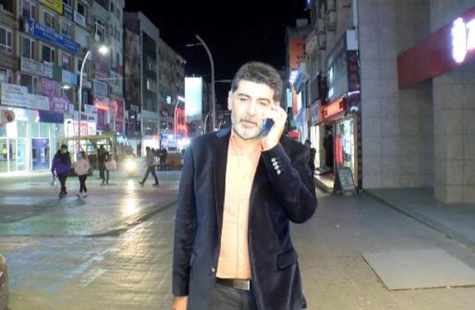 Gazeteci Levent Gültekin'e Halk TV önünde saldırı!