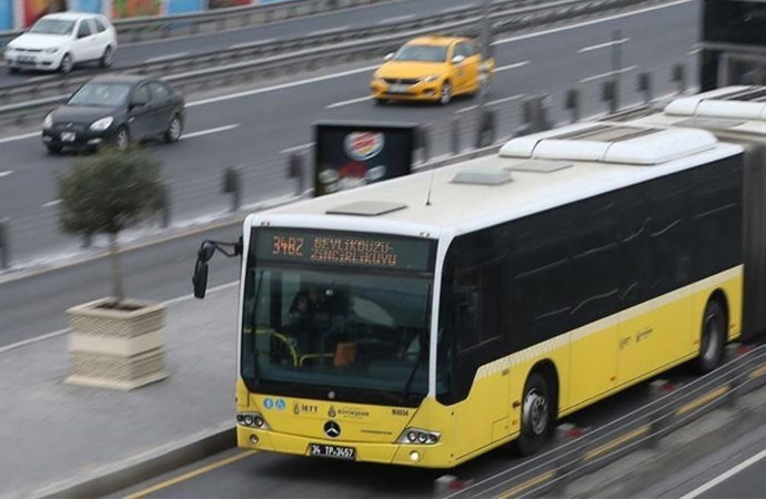 İstanbul'da 65 yaş üzeri ile 20 yaş altı gençlere toplu taşıma serbest