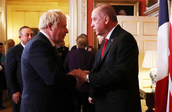 Erdoğan – Johnson görüşmesi
