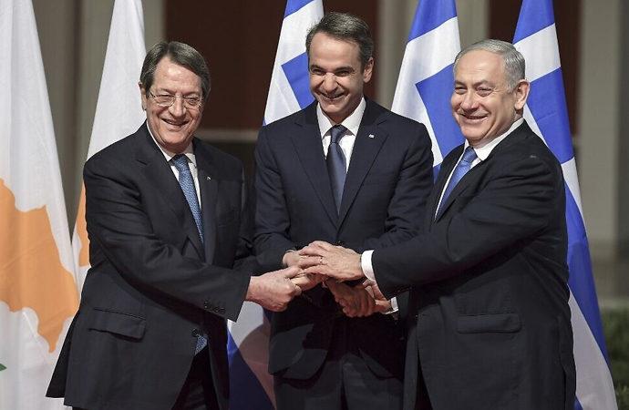 Yunanistan-Güney Kıbrıs ve İsrail arasında mutabakat