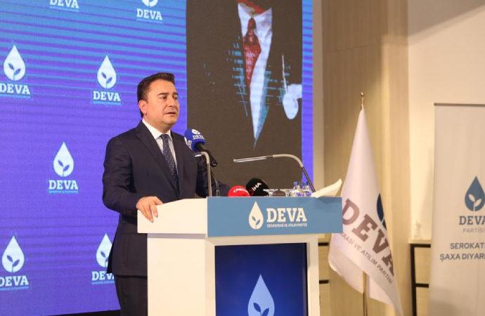 Babacan, Diyarbakır'dan Erdoğan ve Bahçeli'ye seslendi