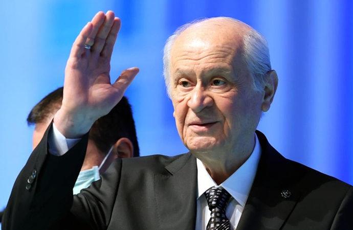 MHP genel başkanlığına Bahçeli yeniden seçildi
