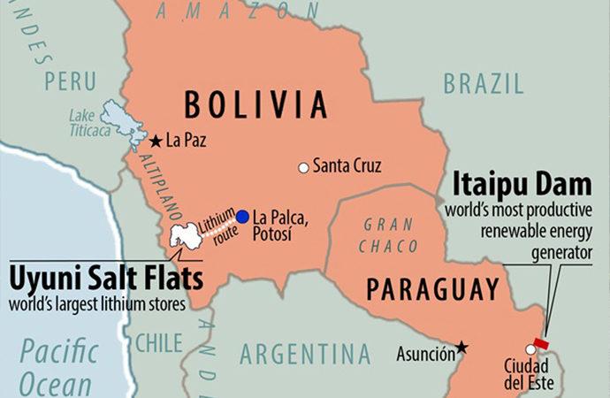 Bolivya'daki muazzam lityum yatakları ve İngiltere
