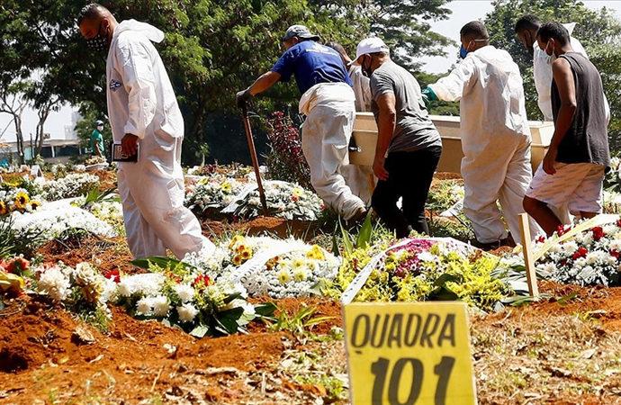 Brezilya'da bir gün içinde 3.780 kişi öldü