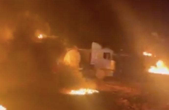 MSB: Füzeler Halep'ten ateşlendi
