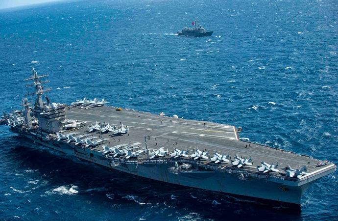 TSK unsurları ABD ile Doğu Akdeniz'de eğitimde