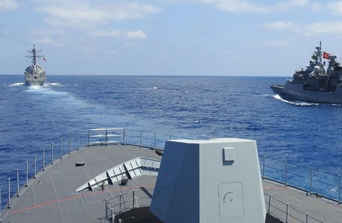 TSK ile ABD arasında Doğu Akdeniz'de işbirliği