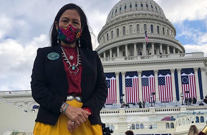 ABD'de kabineye ilk kez bir Amerikan yerlisi alındı