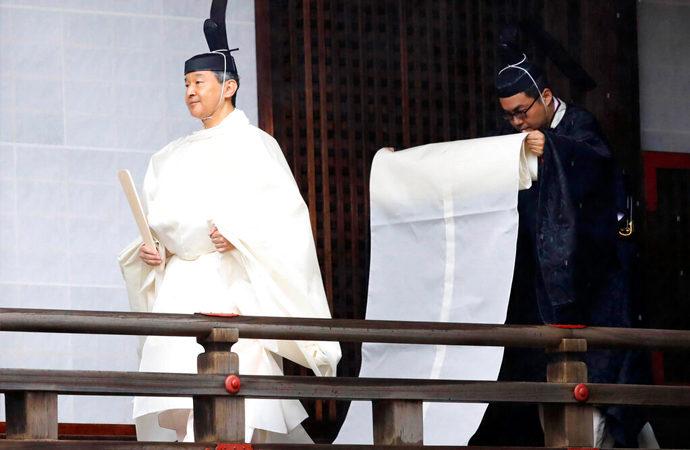 Japon 'imparatorluk tahtı' için 'ulusun belkemiği' vurgusu