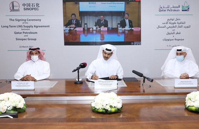 Katar Çin ile 10 yıllık anlaşma imzaladı