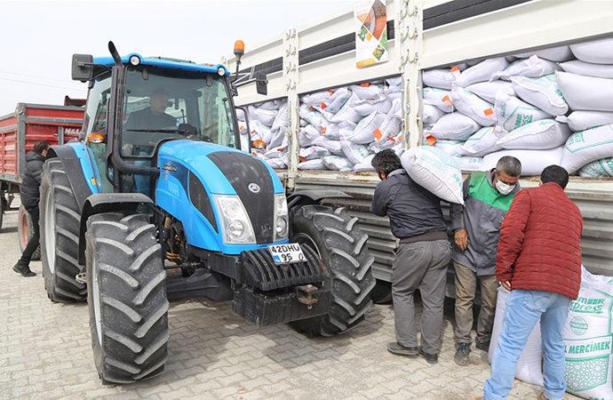Konya'da 200 ton sertifikalı yerli mercimek tohumu dağıtıldı