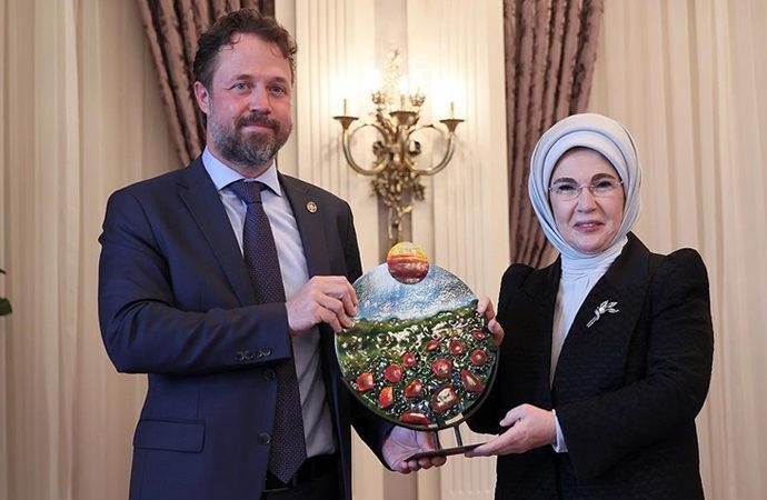 Emine Erdoğan, BM'nin Küresel Amaçlar Eylem Ödülü'ne layık görüldü